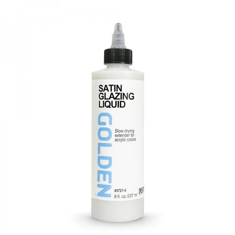 Golden Acrylic Satin Glazing Liquid 237ml